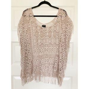 Fashion Weave Poncho